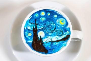 Chàng trai Hàn Quốc biến cà phê thành tác phẩm nghệ thuật