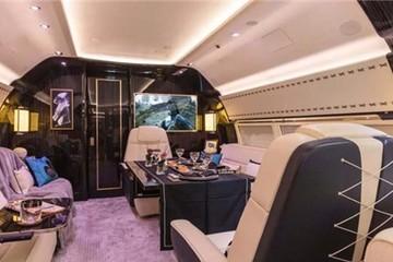 """Nội thất tiện nghi và đẳng cấp bên trong """"ngôi nhà bay"""" Boeing Business 737 được thiết kế riêng"""