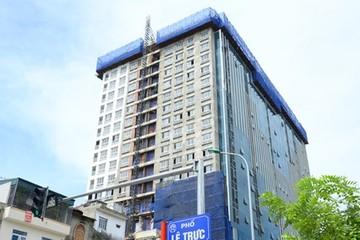Chủ dự án 8B Lê Trực công bố đã khởi kiện UBND quận Ba Đình, Hà Nội