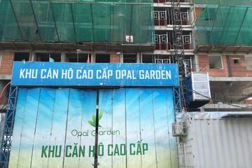 Đất Xanh nói gì về thông tin dự án Opal Garden bị đình chỉ thi công?