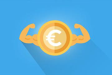 Euro trở thành đồng tiền tăng mạnh nhất trong năm 2017