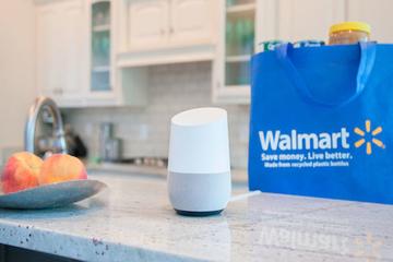 """Walmart """"bắt tay"""" Google cung cấp dịch vụ mua sắm qua giọng nói"""
