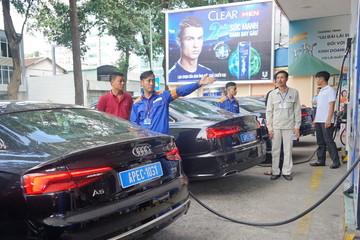 Petrolimex là đơn vị duy nhất cung cấp nhiên liệu cho đoàn xe phục vụ APEC