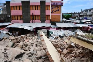 'Động đất thế kỷ' ở Mexico: Ít nhất 61 người chết
