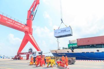Có cảng biển này, hàng nông sản miền Tây không còn phải chen chúc vào cảng Sài Gòn