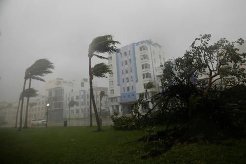 Siêu bão Irma đổ bộ bang Florida của Mỹ
