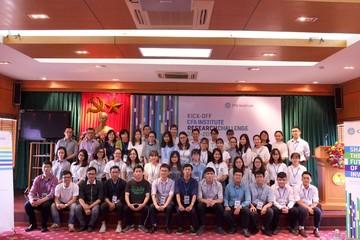 Cuộc thi Phân tích Đầu tư 2017-2018 của Viện CFA tại Việt Nam chính thức khởi tranh