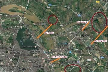 Cuộc đua xây cầu mới tỷ đô tại Hà Nội của VinGroup, SunGroup, Him Lam…quỹ 836ha đối ứng nằm ở đâu?