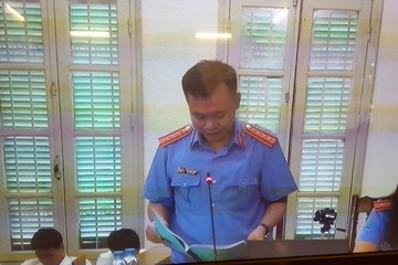 Viện Kiểm sát: Luận tội tử hình Nguyễn Xuân Sơn, chung thân đối với Hà Văn Thắm