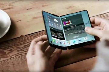 Galaxy X màn hình gập - câu trả lời của Samsung dành cho iPhone X?
