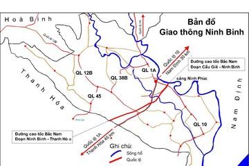 Điều chỉnh quy mô tuyến đường kết nối cao tốc Cầu Giẽ - Ninh Bình với Quốc lộ 1