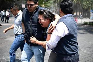 Lại động đất ở Mexico, ít nhất hơn 100 người chết