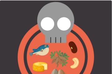 6 món ăn nguy hiểm nhất thế giới