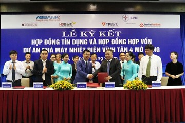 Năm ngân hàng tài trợ 5.400 tỷ đồng cho dự án Nhiệt điệt Vĩnh Tân 4