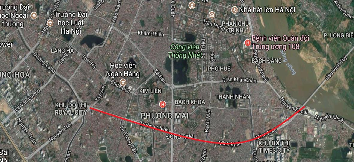 Thủ tướng Chính phủ đồng ý phương án lựa chọn nhà đầu tư đường vành đai 2 Hà Nội
