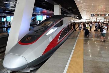 Trung Quốc ra mắt tàu cao tốc nhanh nhất thế giới