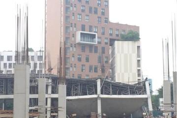 Lộ nguyên nhân công trình xây dựng Trường mầm non Vườn Xanh sập