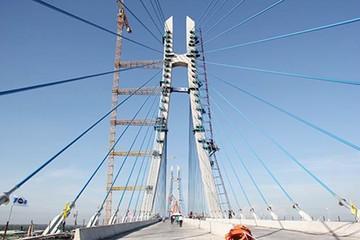 Hợp long cầu Vàm Cống nối tỉnh Đồng Tháp – TP Cần Thơ