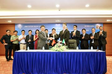Hòa Phát ký hợp đồng lắp đặt hạng mục sản xuất thép cuộn cán nóng với Tập đoàn Danieli