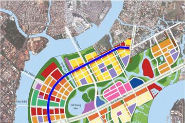 Để xây cầu Thủ Thiêm 4 TP HCM phải đổi 16 lô nhà đất