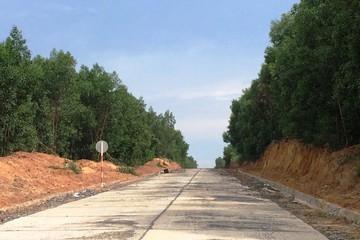 CTI: Đường chuyên dùng vào mỏ đá Tân Cang thông xe, đáp ứng mong mỏi của người dân và doanh nghiệp