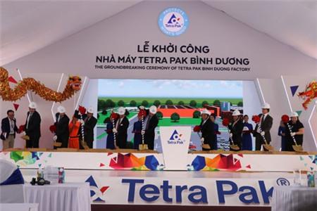 Tetra Pak khởi công xây dựng nhà máy trị giá 110 triệu đô la Mỹ