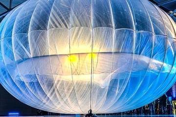 Google sử dụng khinh khí cầu để cung cấp mạng di động