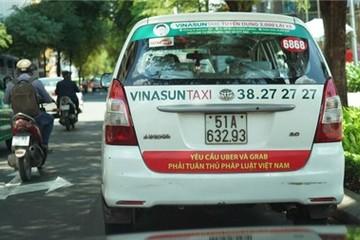 Vinasun sẽ tháo khẩu hiệu phản đối Uber - Grab ngay hôm nay