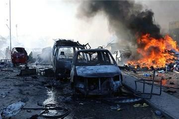 Đánh bom kép tại Somalia, ít nhất 189 người chết