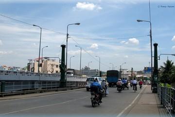 Thông xe cầu Nhị Thiên Đường 1 mới thay thế cầu cũ 100 năm tuổi