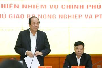Biểu dương Bộ trưởng, Thủ tướng nhắc Bộ NN&PTNT nhiều vấn đề