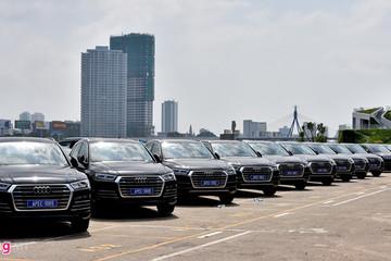 Audi nhận đặt hàng thanh lý 400 xe phục vụ APEC