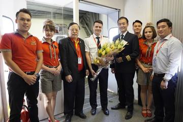 Vietjet khai trương đường bay Hà Nội – Cao Hùng (Đài Loan)