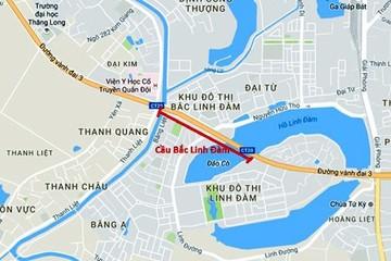 Hà Nội phê duyệt dự án đầu tư xây dựng cầu Bắc Linh Đàm