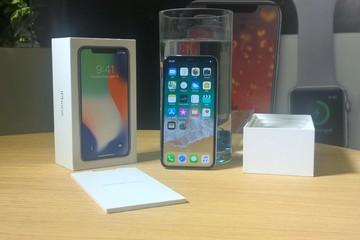 Trải nghiệm IPhone X tại Hà Nội, giá từ 49,5 triệu đồng