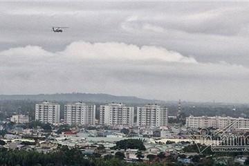 Trực thăng Marine One của Tổng thống Mỹ bay thử ở Đà Nẵng