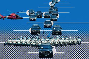 Những chiếc xe đặc biệt trong đoàn hộ tống Tổng thống Trump