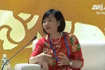 CEO Dương Thị Mai Hoa chia sẻ tại APEC: Vingroup sẽ đưa robot vào dạy học, chăm sóc bệnh nhân