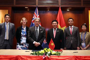 New Zealand hỗ trợ Việt Nam nửa triệu NZD khắc phục hậu quả bão
