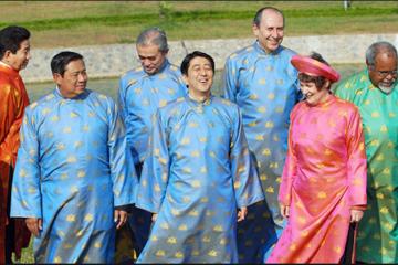 Chùm ảnh: Trang phục APEC qua 24 năm