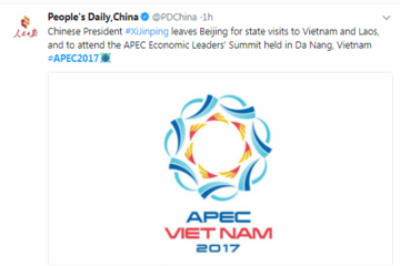 Lãnh đạo các nước nói gì về APEC trên mạng xã hội?