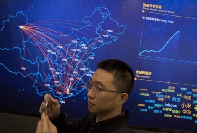 Người dân Trung Quốc chi hàng tỷ USD mua sắm online vào 'Ngày Độc thân'
