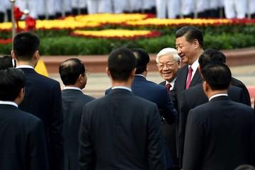 [Ảnh] Lễ đón Tổng Bí thư, Chủ tịch Trung Quốc Tập Cận Bình
