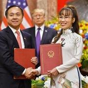 Việt - Mỹ ký loạt thỏa thuận thương mại trị giá 12 tỷ USD