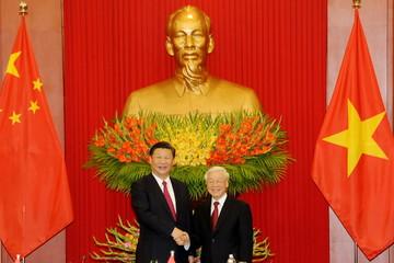 Tổng Bí thư Nguyễn Phú Trọng hội đàm với Tổng Bí thư, Chủ tịch Trung Quốc Tập Cận Bình