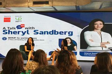 COO Facebook xuất hiện ở Hà Nội, gặp gỡ 200 người trẻ