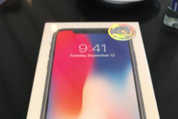 iPhone X sẽ bán chính hãng tại Việt Nam cuối tháng 12