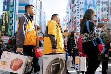 Nới visa cho người châu Á, Nhật đón lượng du khách nước ngoài kỷ lục