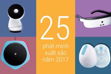 [Infographic] 25 phát minh xuất sắc nhất 2017