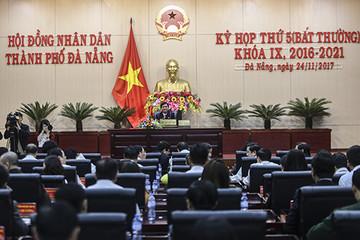 Ông Nguyễn Xuân Anh bị bãi nhiệm chức Chủ tịch HĐND Đà Nẵng